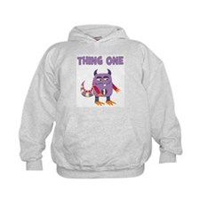Cute Thing 1 and thing 2 Hoody