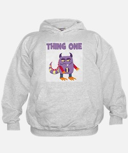 Unique Thing 1 and thing 2 Hoody