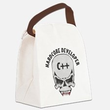 Funny Php Canvas Lunch Bag