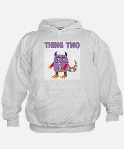 Funny Thing 1 and thing 2 Hoody