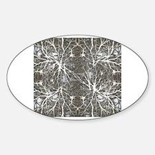 Cute Neuron Sticker (Oval)