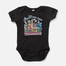 Cute Sf bay Baby Bodysuit
