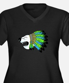 Polar Chief Plus Size T-Shirt