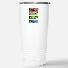 Nature's Rainbow: Snake Travel Mug