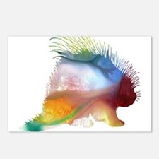 Unique Porcupine Postcards (Package of 8)