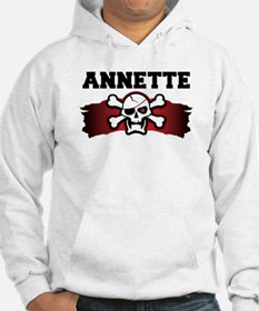 annette is a pirate Hoodie
