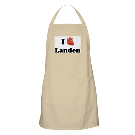 I (Heart) Landen BBQ Apron