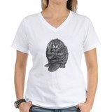 Beaver Womens V-Neck T-shirts