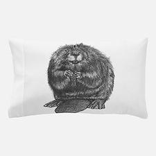 Cute Beaver Pillow Case