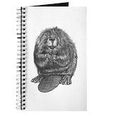 Beaver Journals & Spiral Notebooks