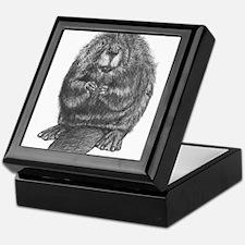 Funny Beaver Keepsake Box