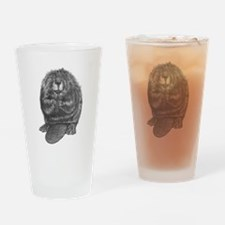 Unique Beaver Drinking Glass