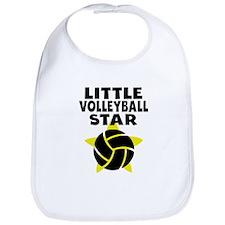 Little Volleyball Star Bib