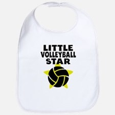Little Volleyball Star Bib