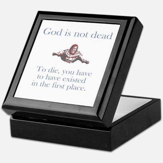 God is not dead Keepsake Box