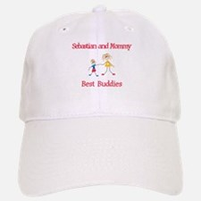 Sebastian & Mommy - Buddies Baseball Baseball Cap