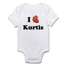 I (Heart) Kurtis Infant Bodysuit
