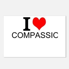 I Love Compassion Postcards (Package of 8)