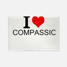 I Love Compassion Magnets