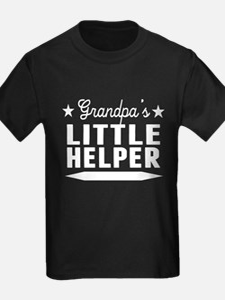 Grandpas Little Helper T-Shirt
