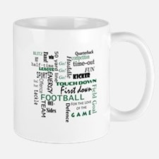 Funny Football fan Mug