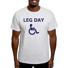 Leg Day Wheelchair T-Shirt