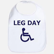 Leg Day Wheelchair Bib