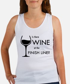 Is There Wine At The Finish Line? Tank Top