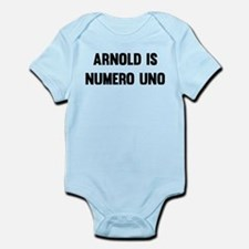 Arnold Is Numero Uno Body Suit
