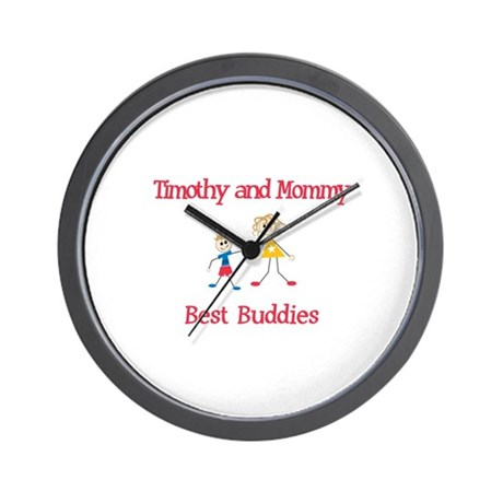 Timothy & Mommy - Buddies Wall Clock