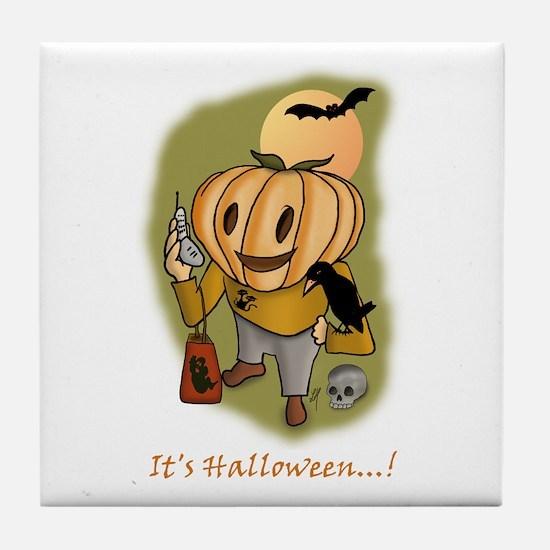 """ Halloween 2' "" Tile Coaster"
