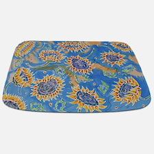 Dance Of The Sunflowers Bathmat Bathmat