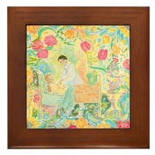 """""""A Healing Place"""" (TM) Framed Tile"""