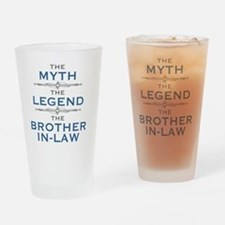 Unique Brother Drinking Glass