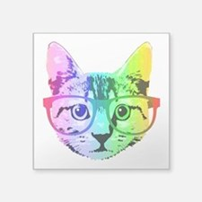 Funny Rainbow Cat Sticker