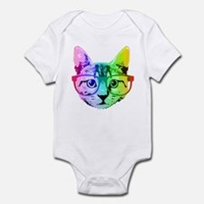 Funny Rainbow Cat Body Suit