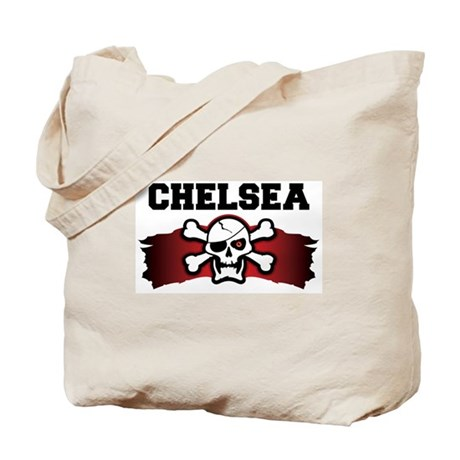 chelsea is a pirate Tote Bag
