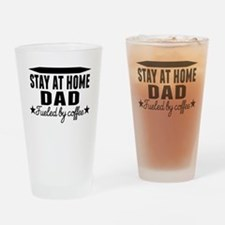 Stay At Home Dad Fueled By Coffee Drinking Glass
