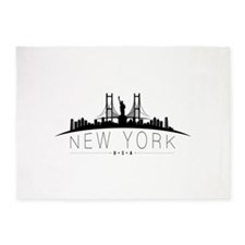 New York 5'x7'Area Rug
