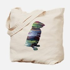 Cool Birds silhouette Tote Bag