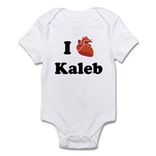 I (Heart) Kaleb Infant Bodysuit