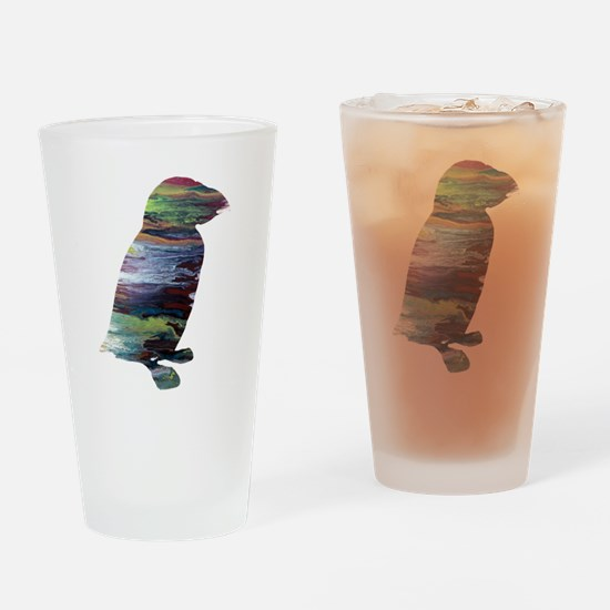 Puffin Drinking Glass
