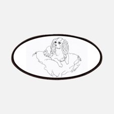 """'Cavalier King Charles Spaniel"""" dog Patches"""