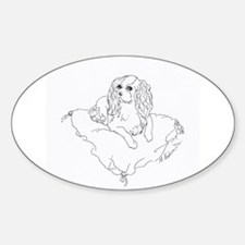 "'Cavalier King Charles Spaniel"" dog Decal"