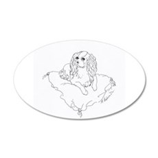 'Cavalier King Charles Spani Wall Decal