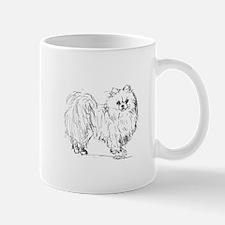 """Pomeranian"" dog Mug"