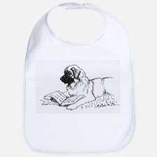 """Leonberger Dog Reading"" Bib"