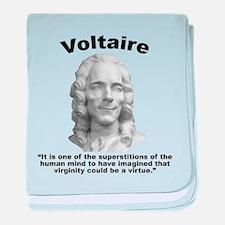 Voltaire Virginity baby blanket