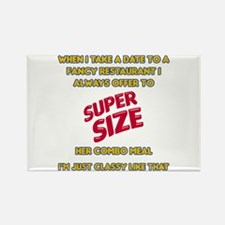 Super Size It! Rectangle Magnet