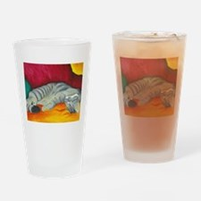 catnap.jpg Drinking Glass